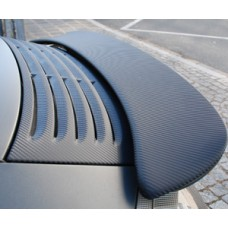 Foliatec Designfolie Carbon - schwarz-strukturiert, 152 cm x 100cm